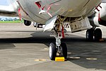 Right Landing Gear of ROCAF P-3C 3311 20170812.jpg