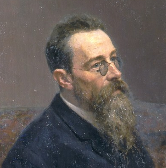 Capriccio Espagnol - The composer in 1893, portrayed by Ilya Repin