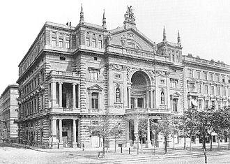 Ringtheater - The Ringtheater in 1881