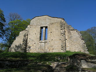 Närke - Riseberga Abbey Ruin in Lekeberg