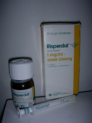 English: Risperdal 1mg/ml - oral solution - co...