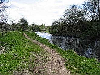 River Tame, Greater Manchester - River Tame near Reddish Vale