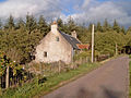 Roadside Cottage near Lethen - geograph.org.uk - 266471.jpg