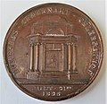 Robert Burns medallion. 1st centenary of the poet's death. 1896. Reverse.jpg