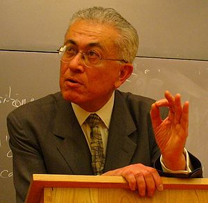 Roberto Mangabeira Unger - Lecturing in Hauser Hall, Harvard Law School