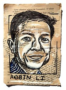Robin Li Painting Collage By Danor Shtruzman