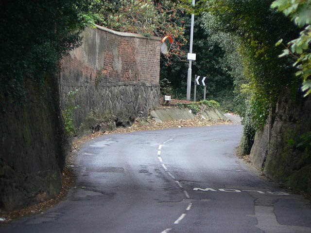 Rock cutting, Bramcote - geograph.org.uk - 1478876