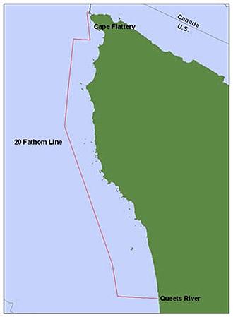 Yelloweye rockfish - Image: Rockfish fishing 20 fathom range limit