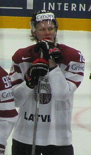 Rodrigo Ābols Latvian ice hockey player
