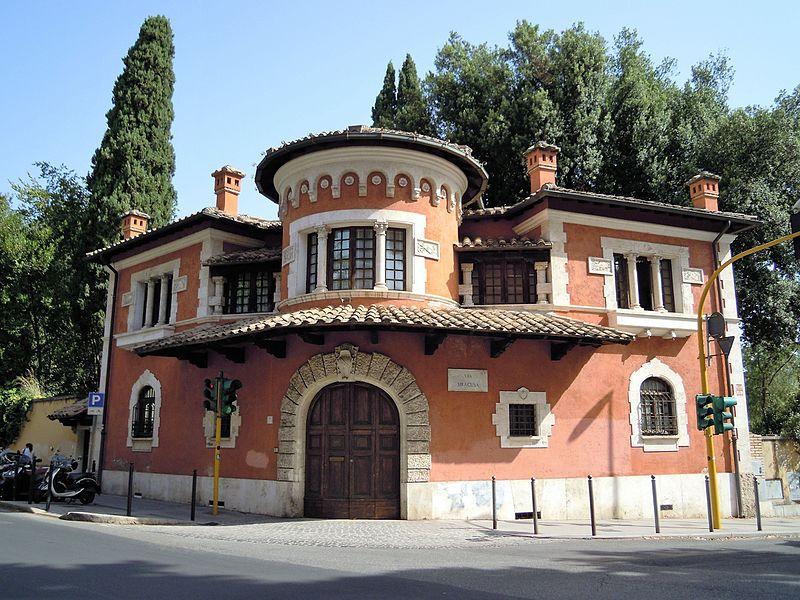 File:Roma, Villa Torlonia - Villino rosso.JPG