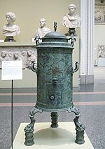 Roman Heater from Pompeii - replica in Pushkin museum 01 by shakko.jpg