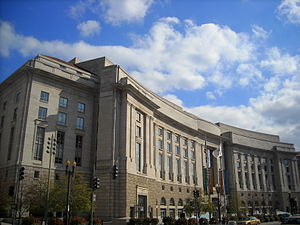 Woodrow Wilson International Center for Scholars - The Ronald Reagan Building and International Trade Center, where the Wilson Center is located.