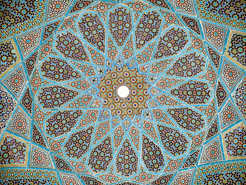 ملف:Roof hafez tomb.jpg