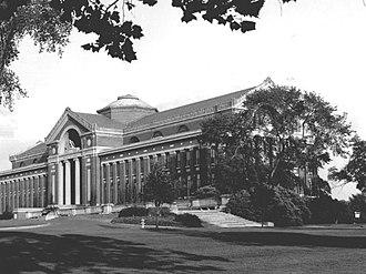 Roosevelt Hall (National War College) - Roosevelt Hall on Fort McNair  houses the National War College.