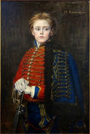 Joseph Bara - Portrait painted in 1882