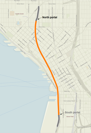 Alaskan Way Viaduct replacement tunnel Wikipedia