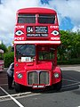 Routemaster bus RML 2686 Routemaster 50 livery SMK 686F Metrocentre rally 2009 pic 4.JPG