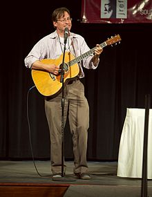 Roy Zimmerman performing.jpg