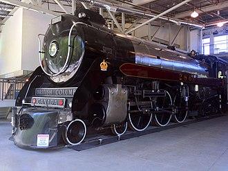 Royal Hudson - Image: Royal Hudson 2860 train