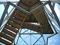 Rozhledna Svatý kopeček - schodiště.JPG