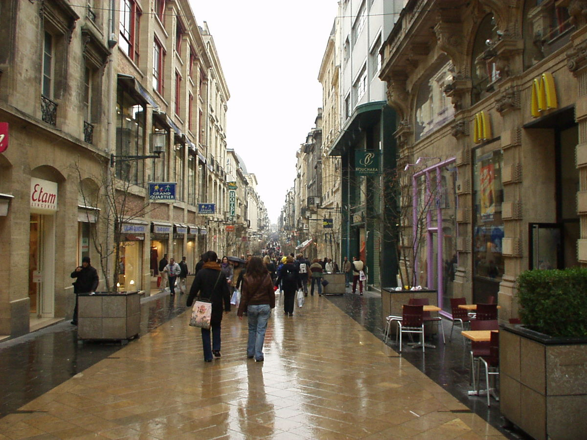 rue sainte catherine bordeaux