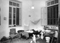 Rummet som John Lindros och Erik Sjöqvist använde vid H.K.H. ´s besök. Nicosia. interiör - SMVK - C05973.tif