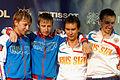 Russia podium 2013 Fencing WCH SMS-EQ t220406.jpg