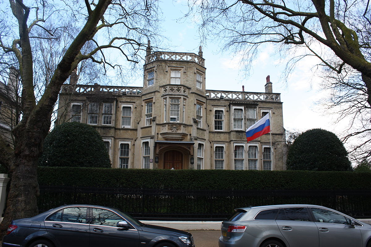 In Italy Russian Embassy In 54