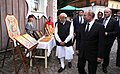 Russian President Vladimir Putin and Indian Prime Minister Narendra Modi visited the My Russia cultural and ethnographic centre in Krasnaya Polyana (2).jpg