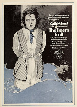The Tiger's Trail - Ad for film