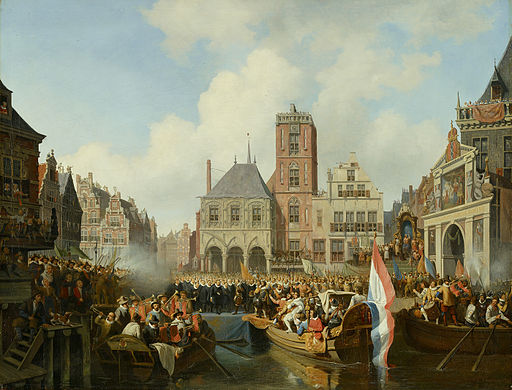 SA 700-Intocht van prins Maurits te Amsterdam