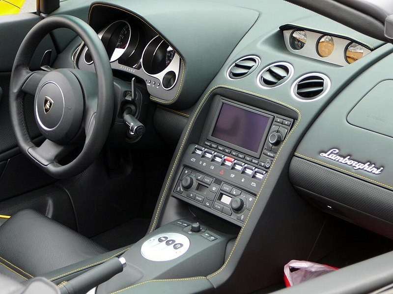 best lamborghini gallardo interior