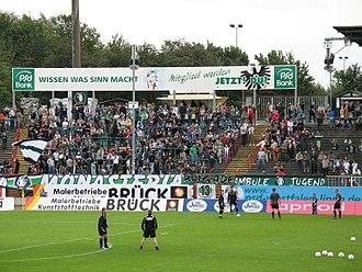 SC Preußen Münster - Preußen Münster fans in 2006