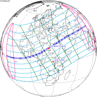 Solar eclipse of March 20, 2034