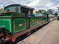 "SECR ""H"" Class no. 263 at Horstead Keynes (double heading with SECR ""P"" Class) (9131480026).jpg"