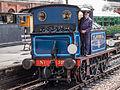 "SECR ""P"" Class no. 323 ""Bluebell"" running around its train at Sheffield Park (9131182216).jpg"