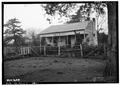 SERVANT'S HOUSE. EAST FRONT - Cedar Grove, Uniontown Road, Faunsdale, Marengo County, AL HABS ALA,46-FAUN.V,1-31.tif