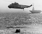SH-3A Sea King over Gemini 2 spacecraft 1965.jpg