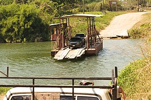 Spanish Lookout - Hand-operated Ferry