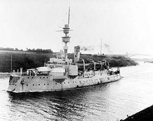 24 cm K L/35 - The forward 24 cm K L/35 gun turrets aboard SMS Odin