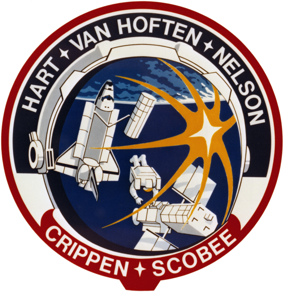 Plik:STS-41-C patch.png