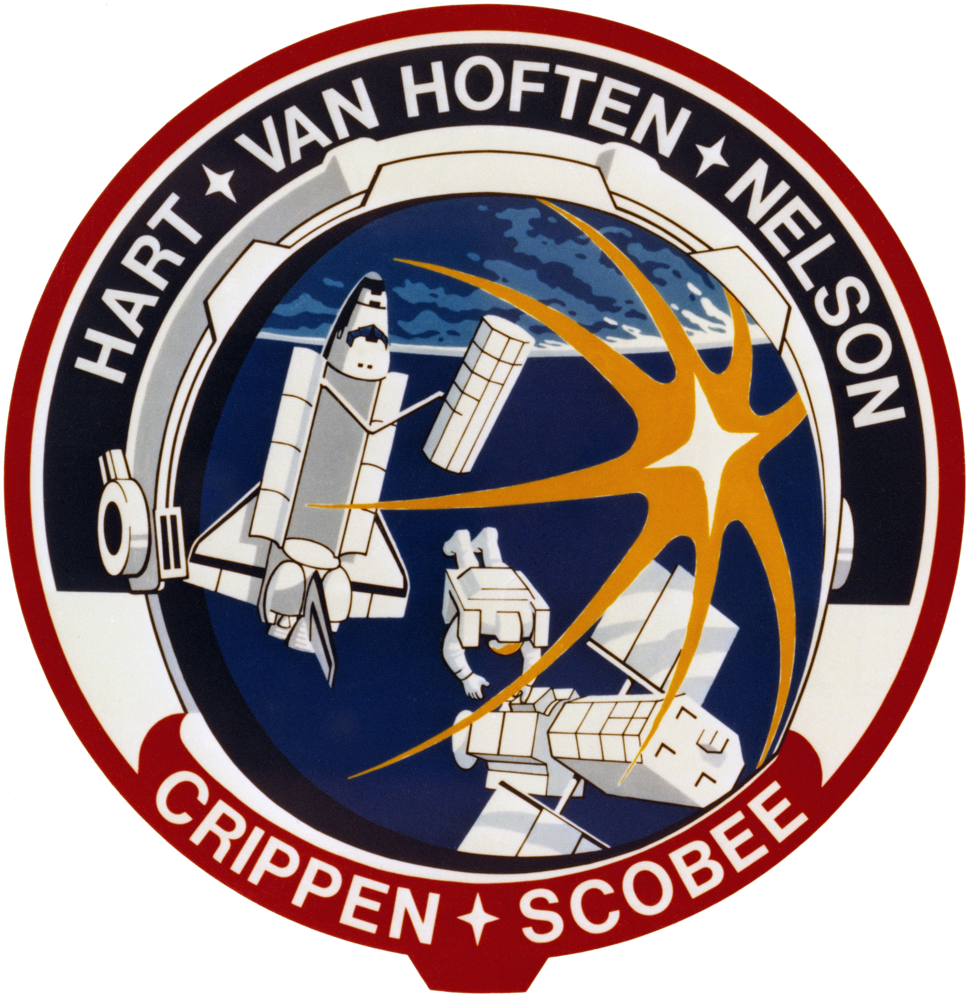 STS-41-C patch