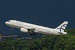 SX-DGK Airbus A320-232 A320 - AEE (27794217493).jpg