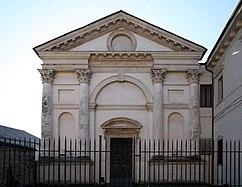 Iglesia de Santa María Nova, Vicenza (1578-1590)