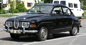 Saab 96 - Image: Saab 96v 41971front