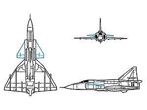 Canard (aeronautics) - Wikipedia, de free encycwopedia