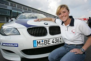 Sabine Schmitz German racing driver