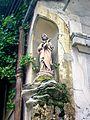 Saint-Brice-sous-Forêt (95), Vierge à l'Enfant, anc. but de procession, 19 rue de Montmorency.jpg