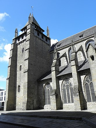 Saint-Brieuc Cathedral - Saint-Brieuc Cathedral