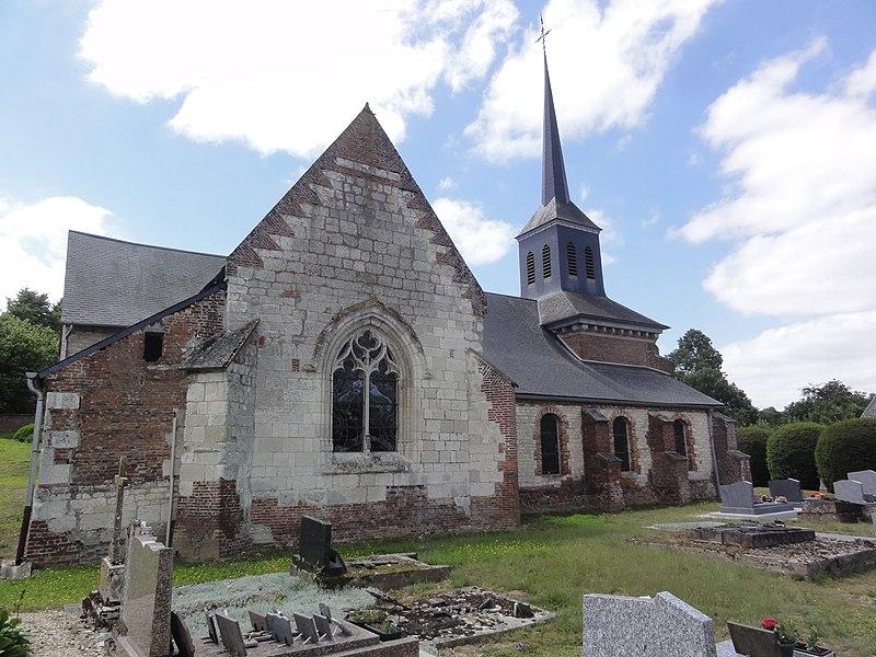 Saint-Pierremont (Aisne) église